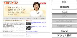 静岡市議会議員 うまいきよこ